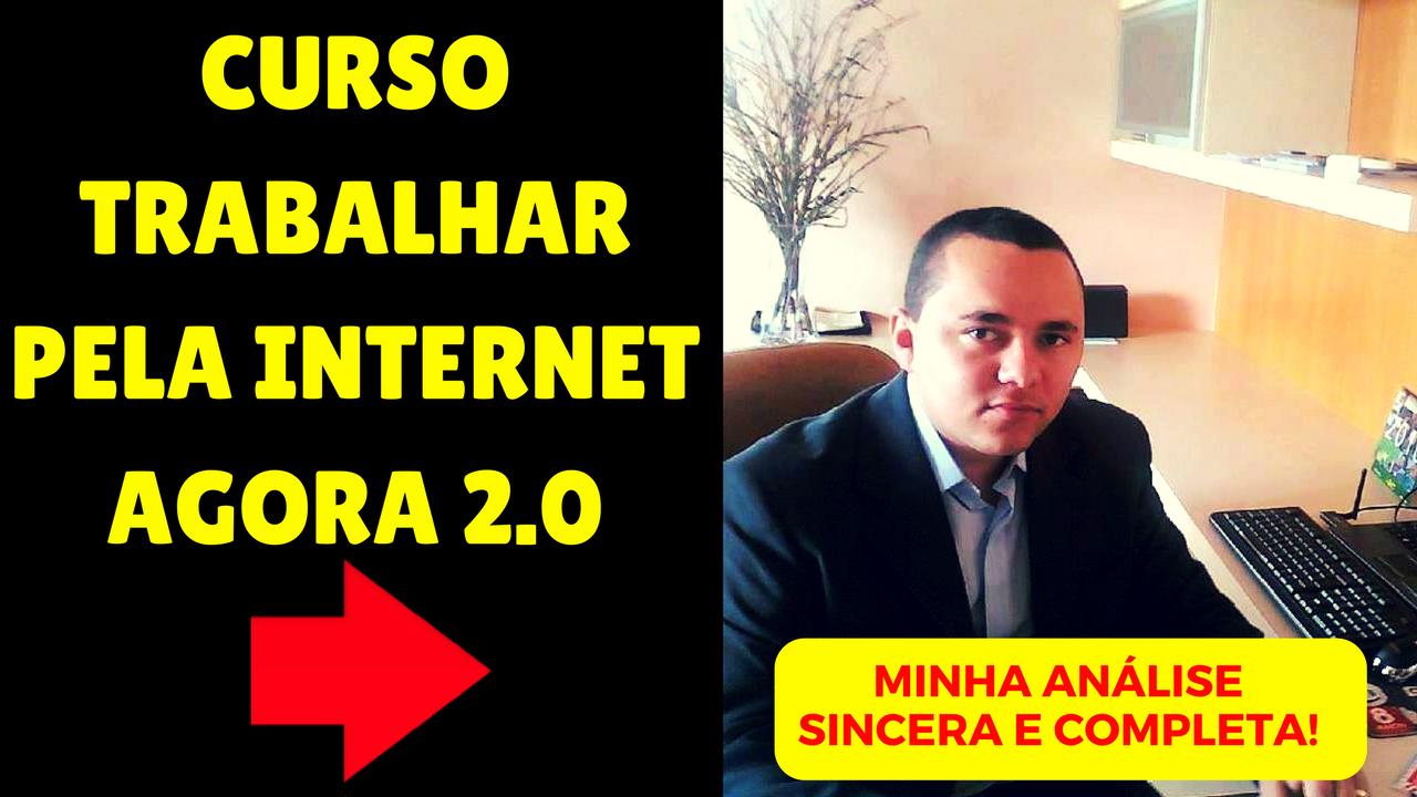 Curso Trabalhar Pela Internet Agora 2.0 - Rodrigo Vitorino