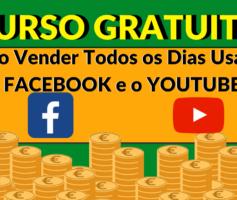 Como GANHAR Dinheiro no FACEBOOK e no YOUTUBE – CURSO GRATUITO de Marketing Digital!