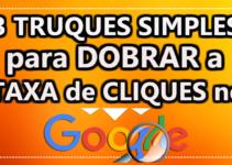 DICAS DE SEO – 3 TRUQUES SIMPLES para DOBRAR a Taxa De Cliques No Google
